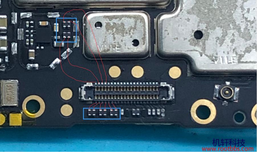 此5组排感 虚焊或坏会引起 直接短接或者更换即可.png